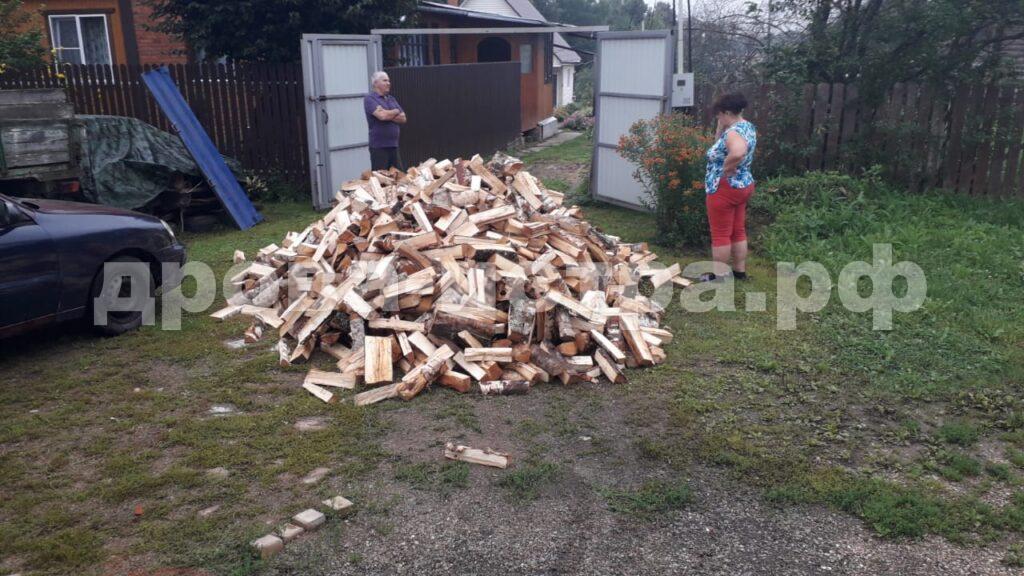 5 м³ берёзовых дров в СНТ Подводник, 1, г.о. Истра