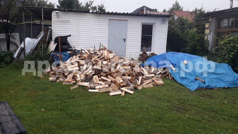 5 м³ берёзовых дров в д. Талицы, г.о. Истра