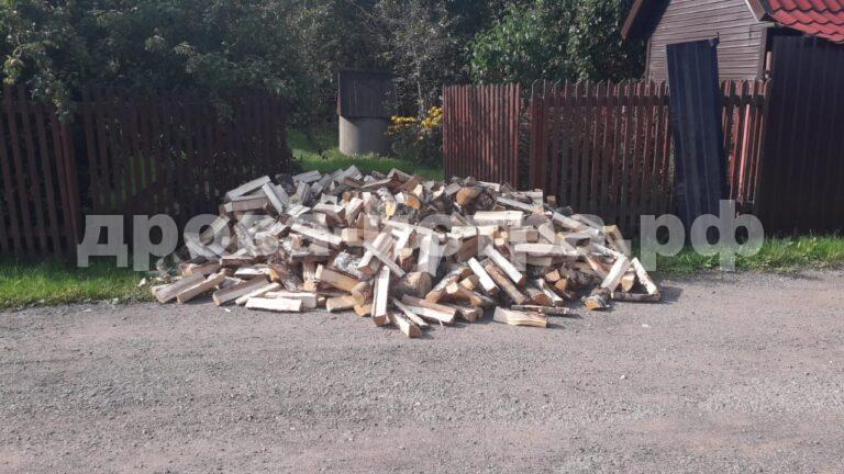 4 м³ берёзовых дров в д. Леоново, г.о. Истра