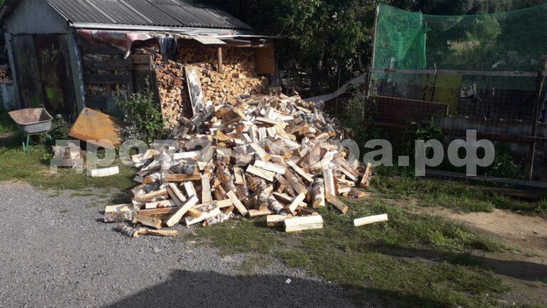 5 м³ берёзовых дров в д. Марково-Курсаково, г.о. Истра