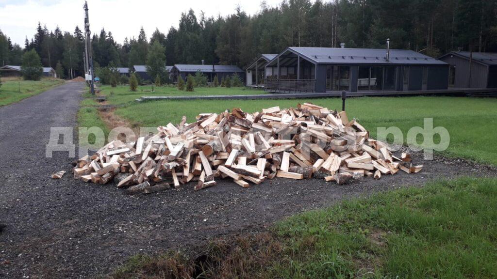 5 м³ берёзовых дров в дп. Снегири,  г.о. Истра