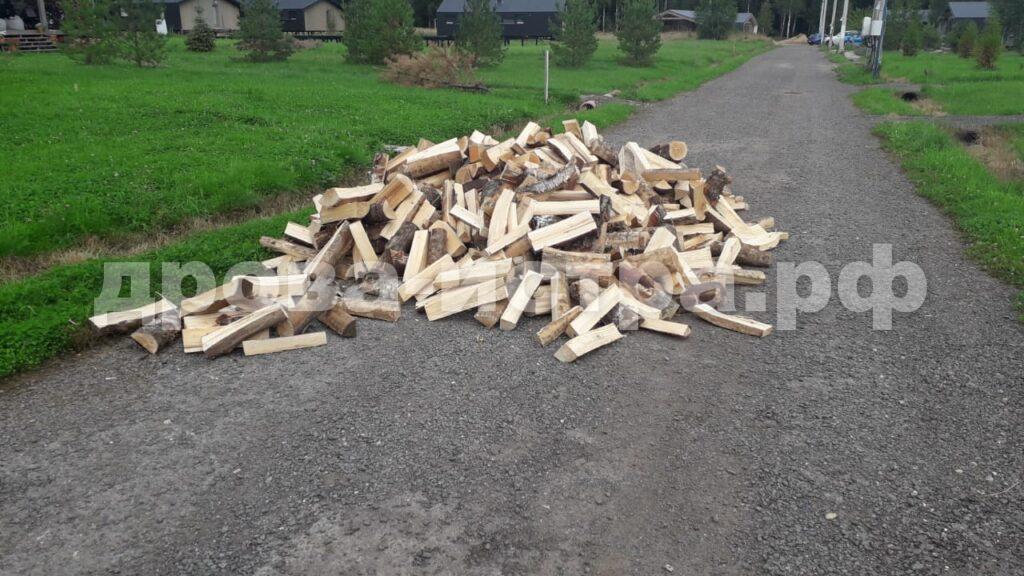 3 м³ берёзовых дров в д. Бужарово, г.о. Истра