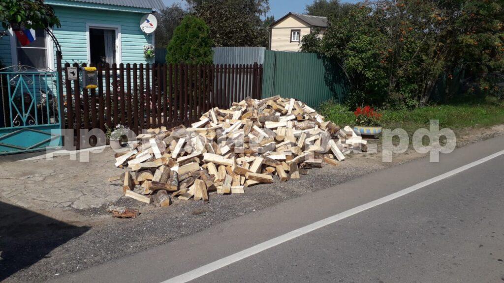 5 м³ берёзовых дров в д. Шишаиха, г.о. Истра