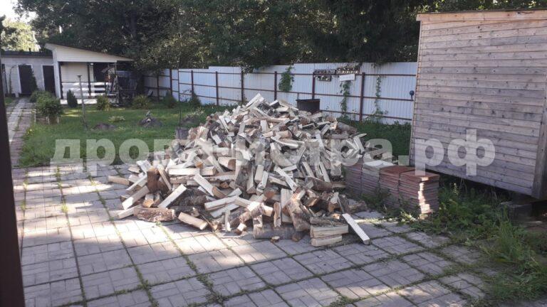 5 м³ берёзовых дров в СНТ Знамя, г.о. Истра