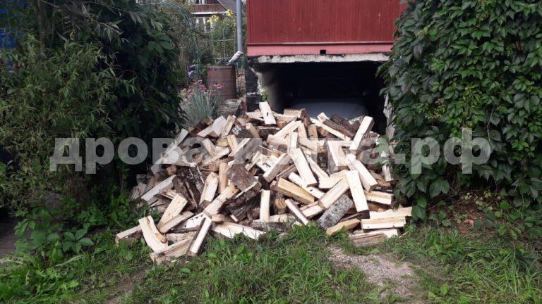5 м³ осиновых дров в д. Алексино, г.о. Истра