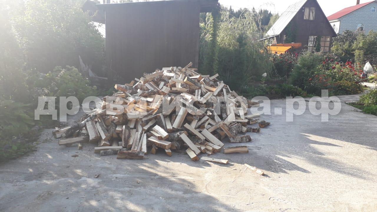 5 м³ берёзовых дров в д. Большое Ушаково, г.о. Истра