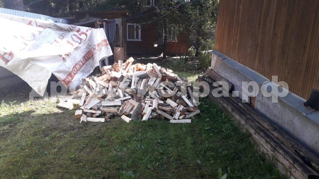 5 м³ берёзовых дров в д. Карцево, г.о. Истра