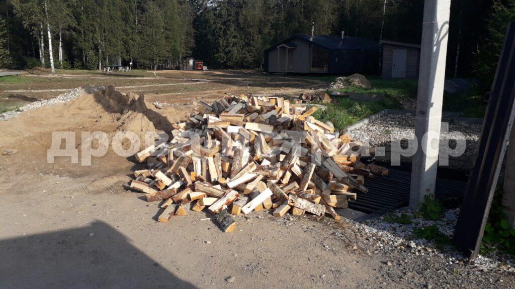 5 м³ берёзовых дров в СНТ Ветеран, г.о. Истра