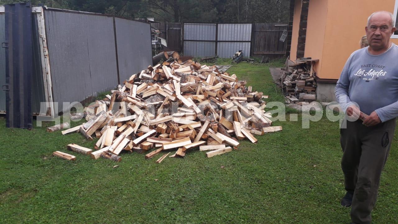 5 м³ берёзовых дров в СНТ Звёздное Поле, г.о. Истра