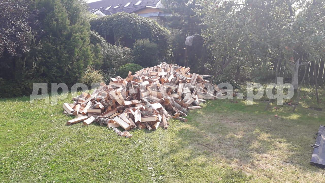 10 м³ берёзовых дров в п. Румянцево, г.о. Истра