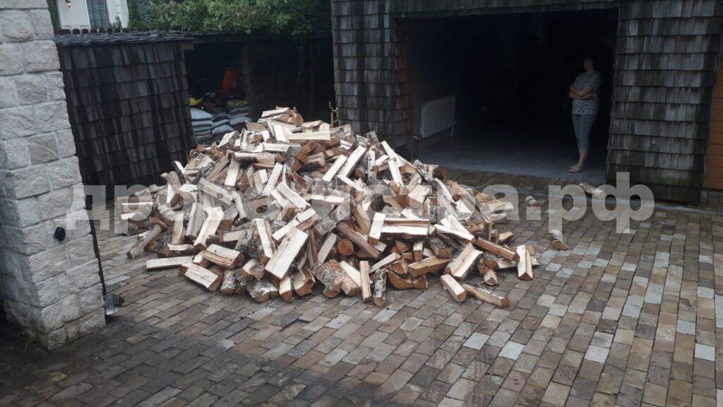 5 м³ берёзовых дров в д. Павловское, г.о. Истра