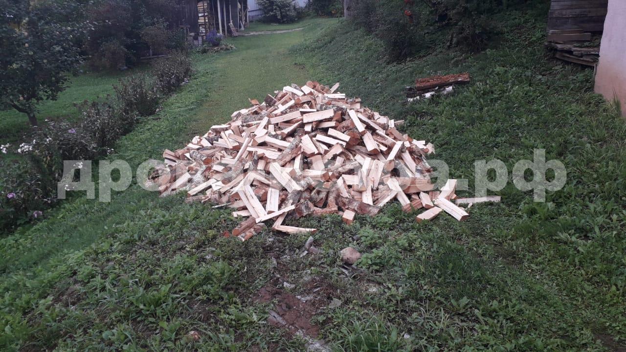 4 м³ берёзовых дров в СНТ Астра, г.о. Истра