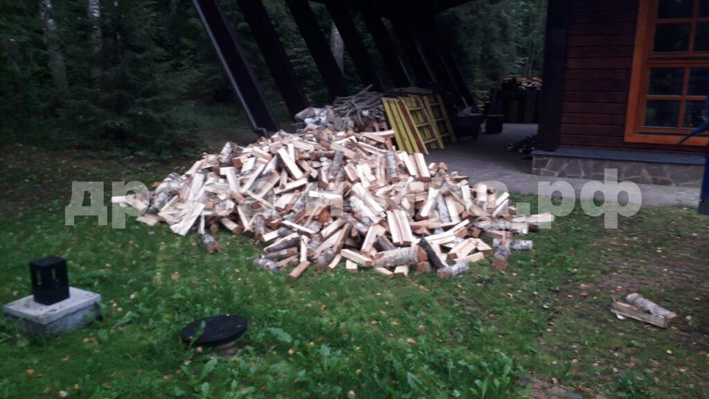 5 м³ берёзовых дров в СНТ Рассвет, г.о. Истра