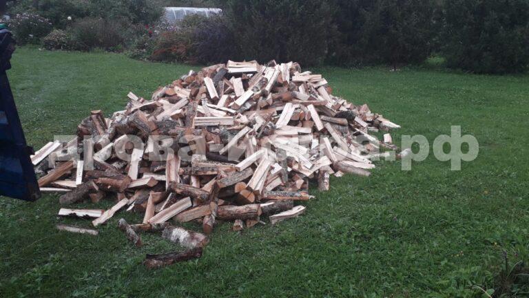 5 м³ берёзовых дров в д. Деньково, г.о. Истра