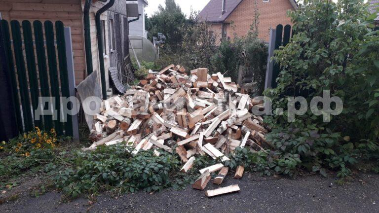 5 м³ берёзовых дров в д. Кострово, г.о. Истра