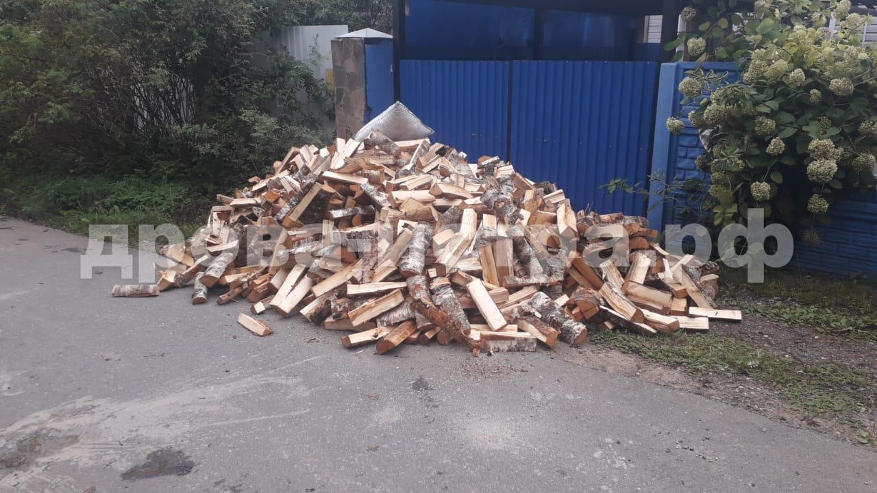 5 м³ берёзовых дров в д. Леоново, г.о. Истра