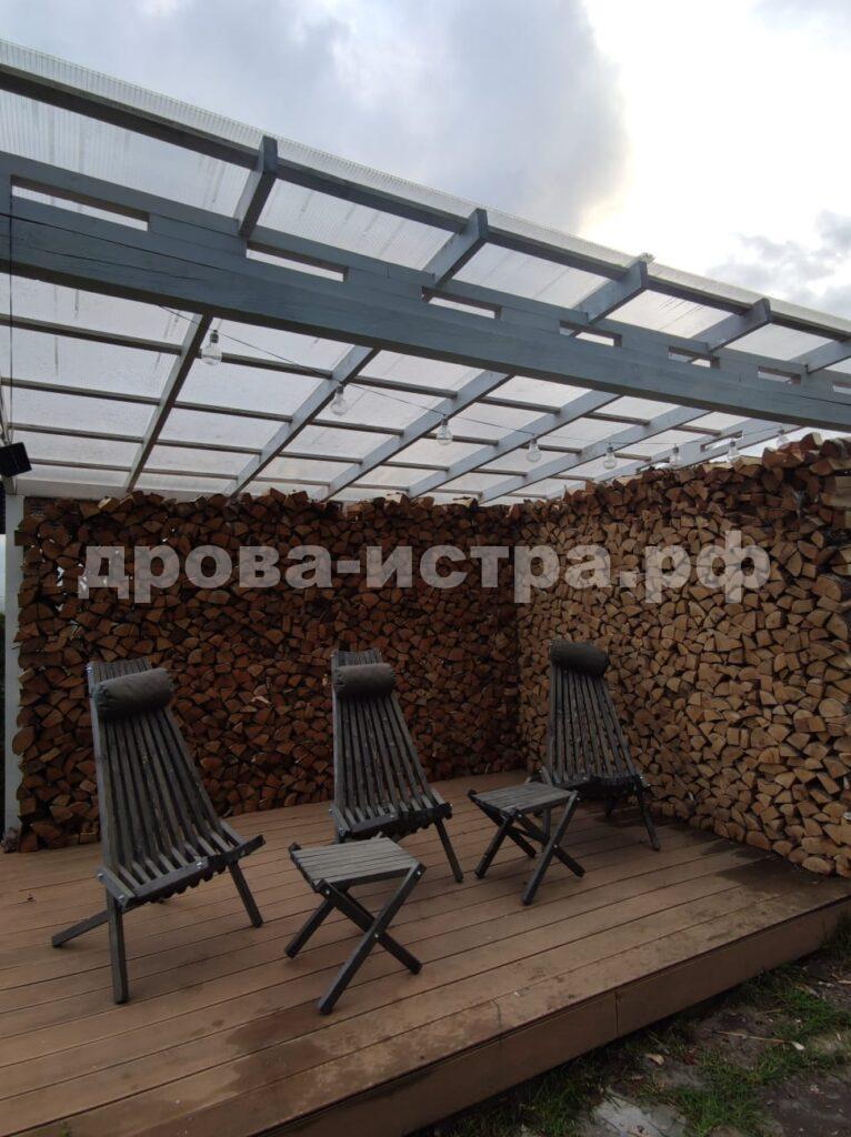 10 м³ берёзовых дров в ДПК Никитское, г.о. Истра