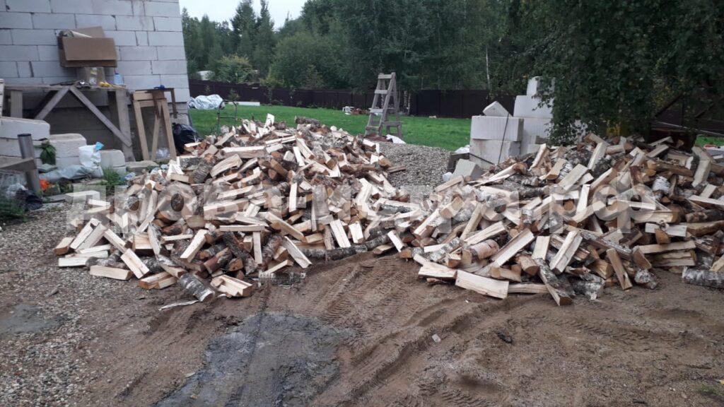 10 м³ берёзовых дров в д. Павловское, г.о. Истра