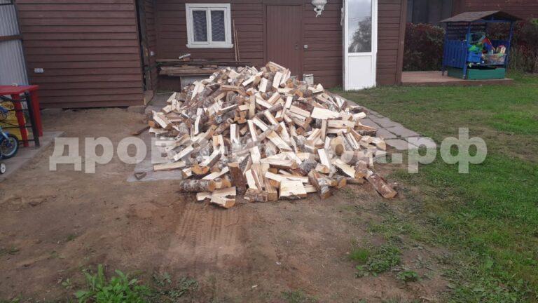 5 м³ берёзовых дров в д. Кашино, г.о. Истра