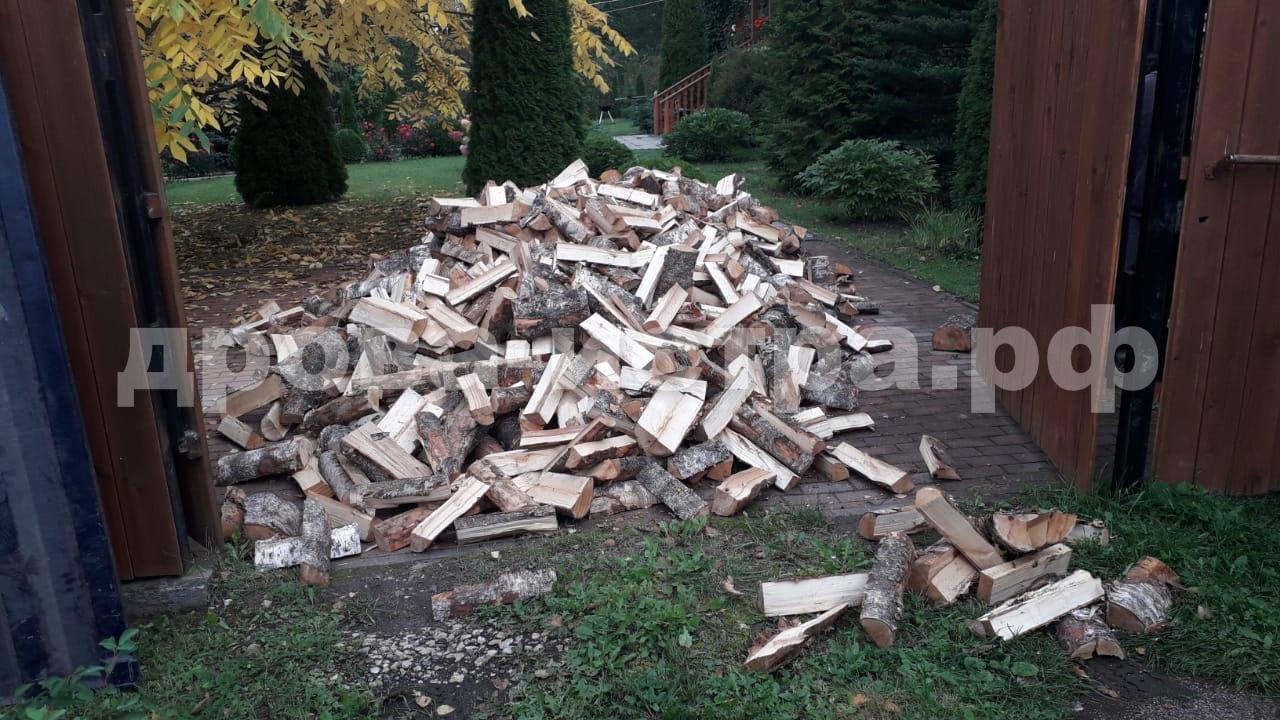 5 м³ берёзовых дров в д. Сафонтьево, г.о. Истра
