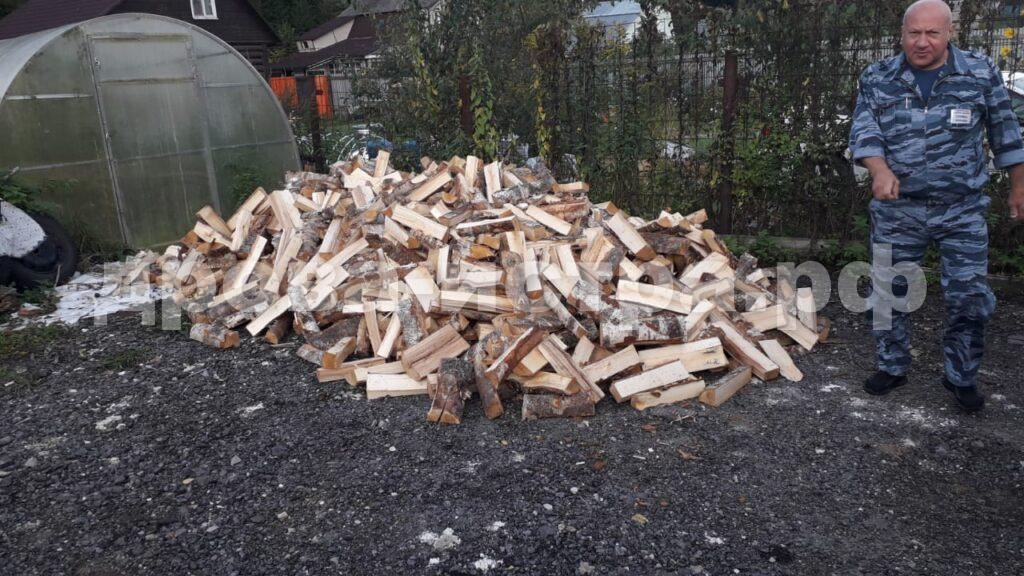 4 м³ берёзовых дров в дп. Снегири, г.о. Истра