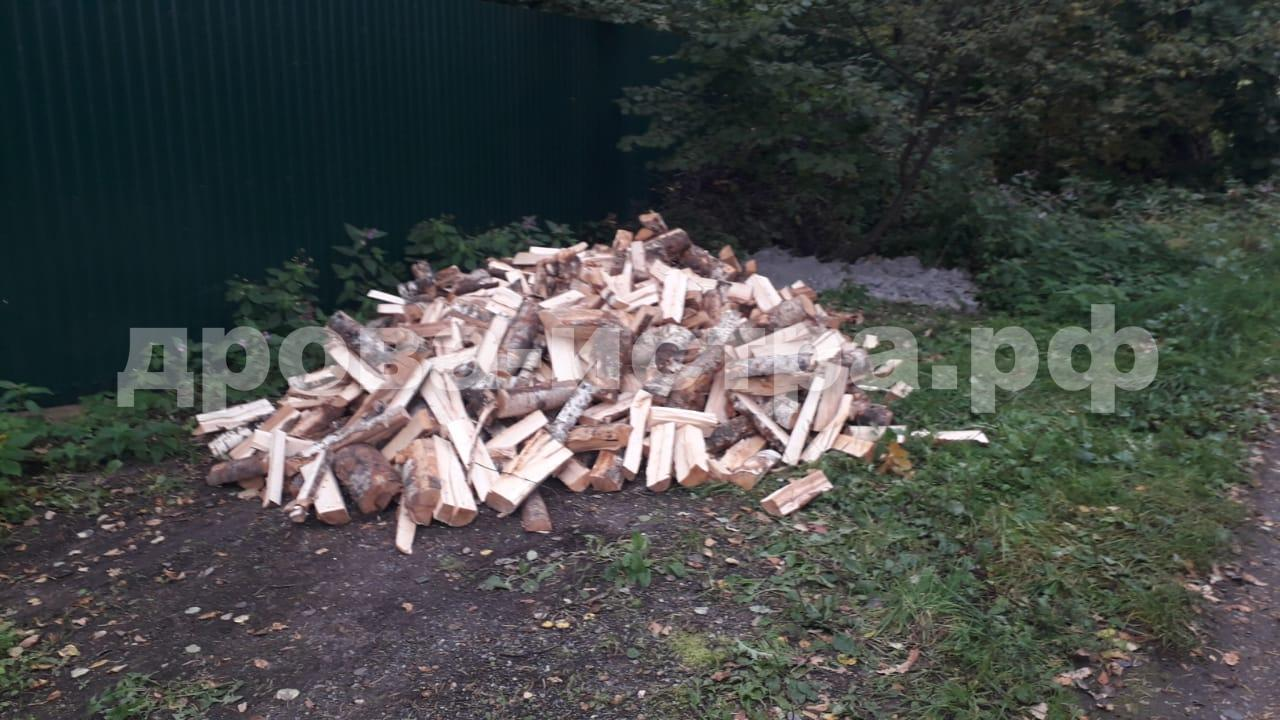 3 м³ берёзовых дров в д. Леоново, г.о. Истра