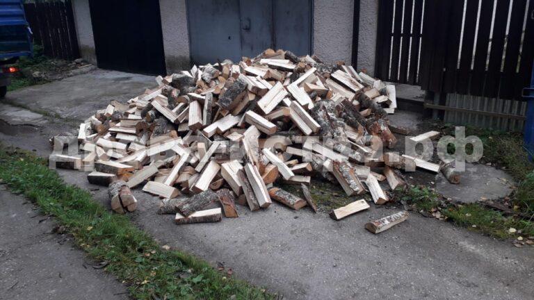 4 м³ берёзовых дров в СНТ Поляна, Истринский р-н