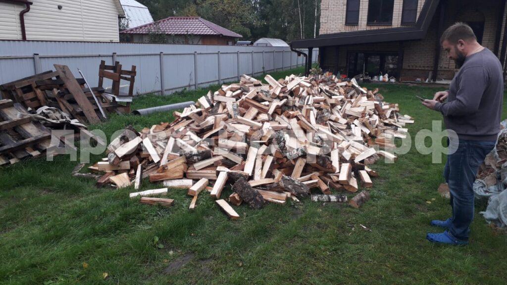 10 м³ берёзовых дров в кп. Истринский родник, г.о. Истра