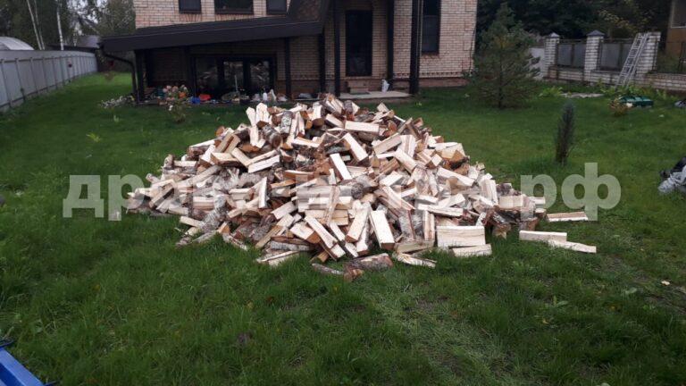 5 м³ берёзовых дров в кп. Истринские Дачи, г.о. Истра