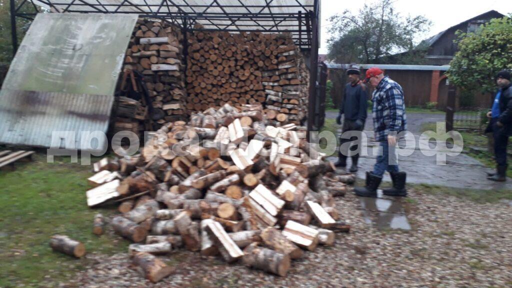 5 м³ берёзовых дров в СНТ Холщевики, г.о. Истра