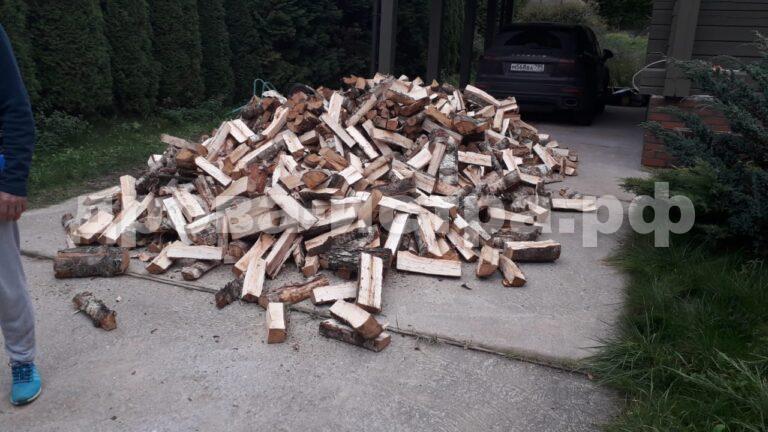 5 м³ берёзовых дров в кп. Лесная Пристань, г.о. Истра