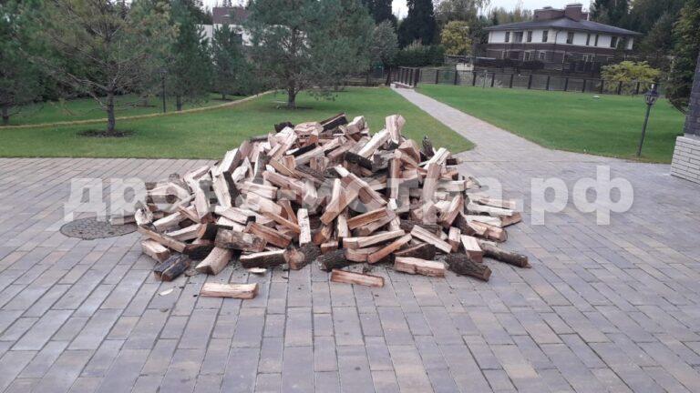 3 м³ берёзовых дров в д. Качаброво, г.о. Истра