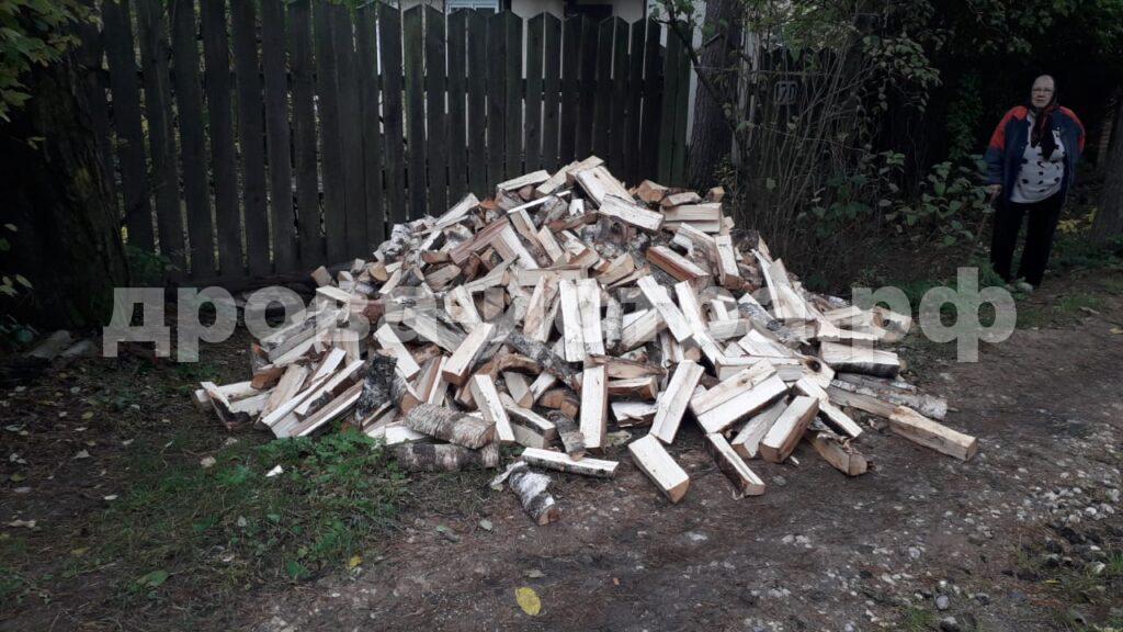 3 м³ берёзовых дров в СНТ Театральное, г.о. Истра