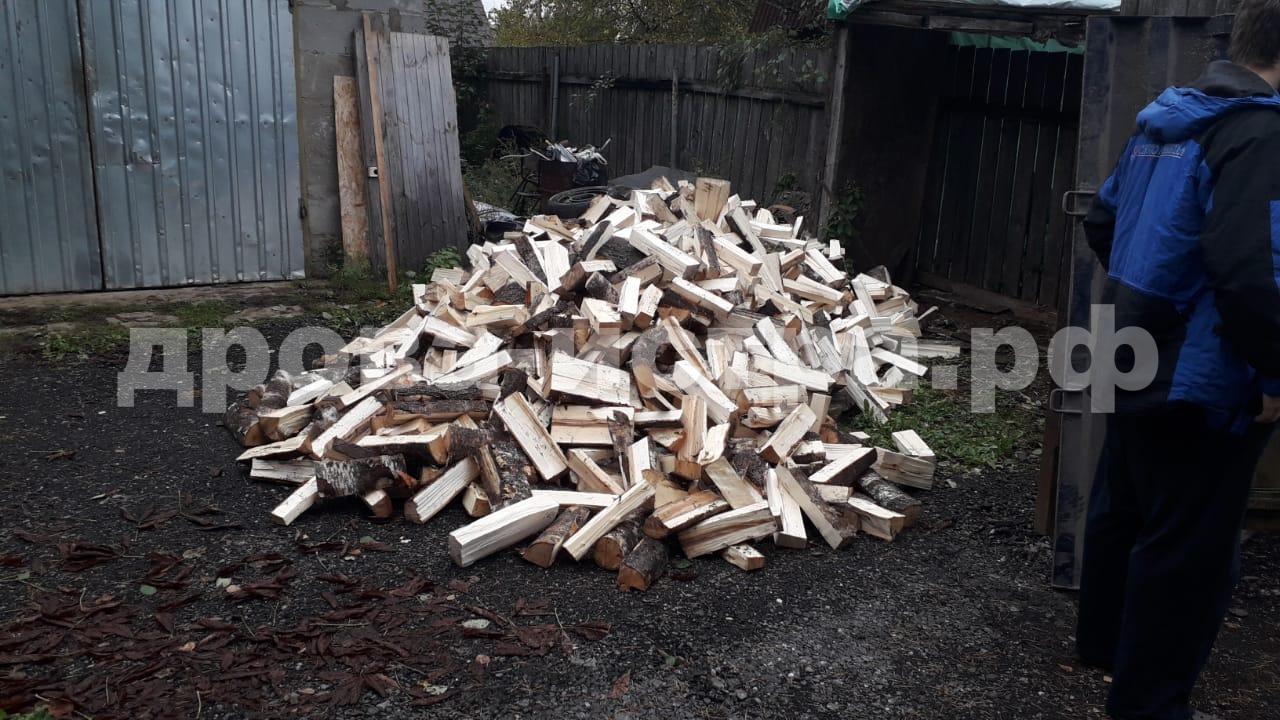5 м³ берёзовых дров в СНТ Ядрошино, г.о. Истра