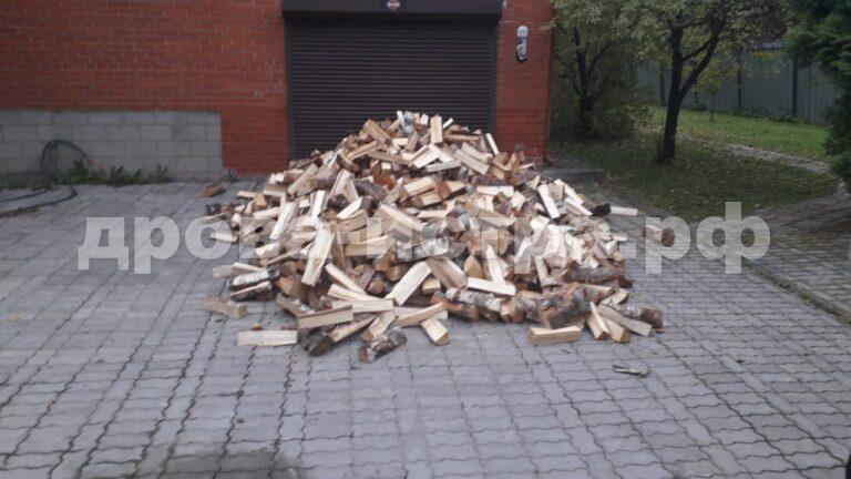 5 м³ берёзовых дров в д. Дедово-Талызино, г.о. Истра