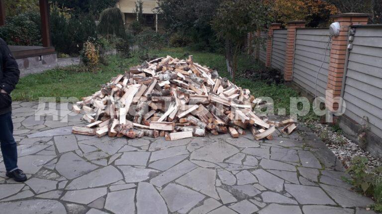 5 м³ берёзовых дров в д. Ленино, г.о. Истра