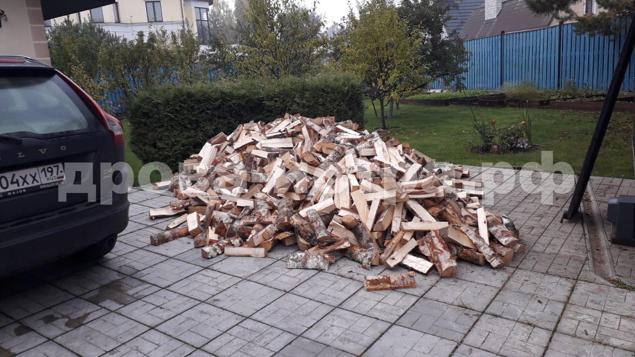 5 м³ берёзовых дров в д. Высоково, г.о. Истра