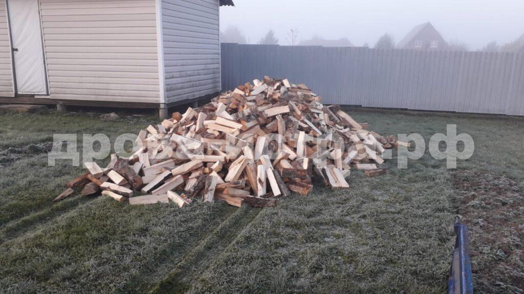 5 м³ берёзовых дров в д. Котово, г.о. Истра