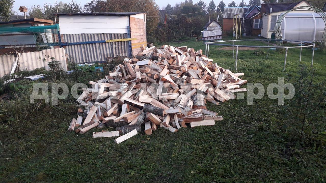 5 м³ берёзовых дров в д. Никольское, г.о. Истра