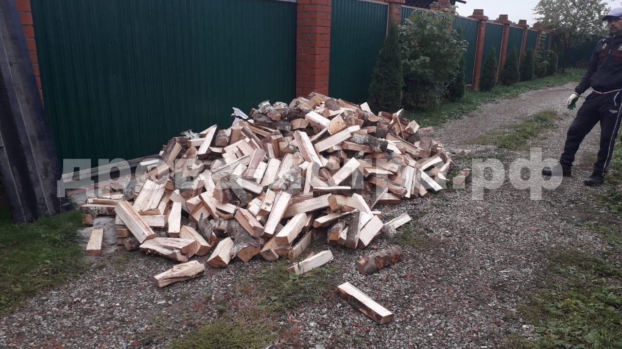3 м³ берёзовых дров в п. Пионерский, г.о. Истра