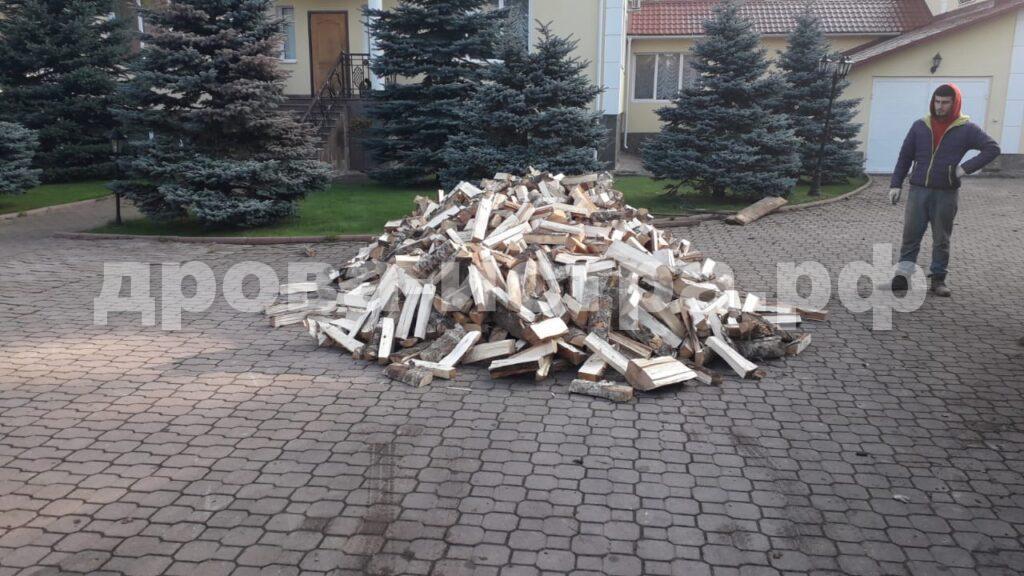 5 м³ берёзовых дров в СНТ Каскад, г.о. Истра