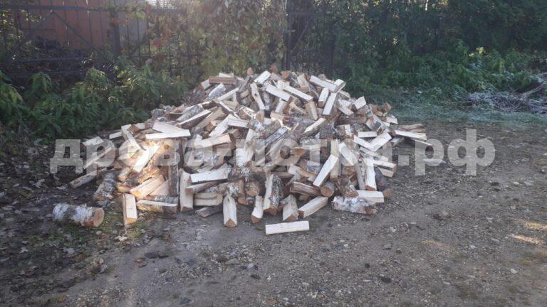 5 м³ берёзовых дров в д. Садки, г.о. Истра