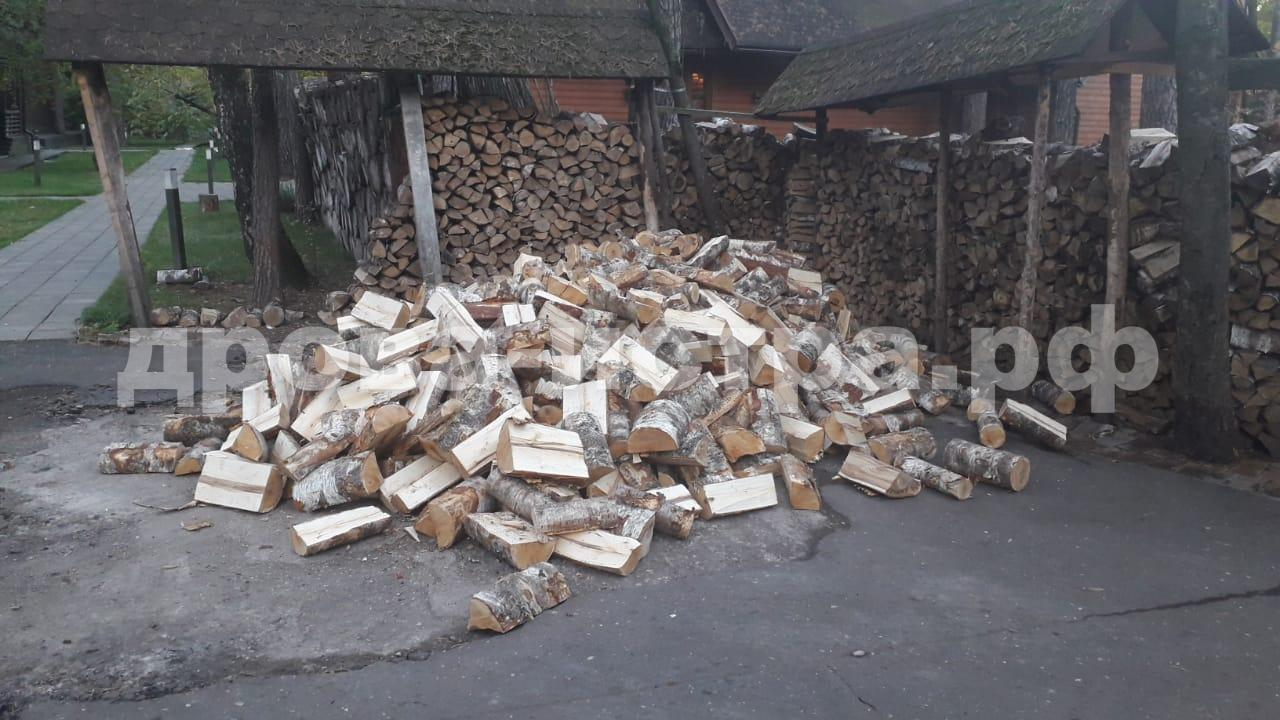 5 м³ берёзовых дрова в дп. Снегири, г.о. Истра