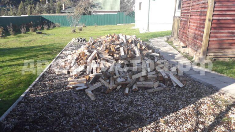 5 м³ берёзовых дров в п. Огниково, г.о. Истра