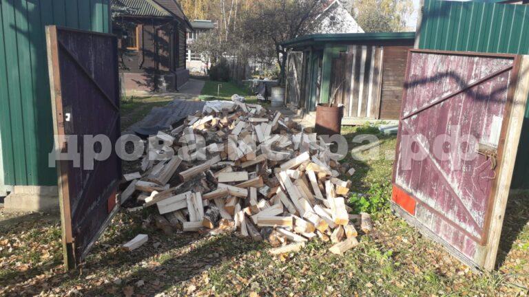 5 м³ берёзовых дров в д. Мартюшино, г.о. Истра