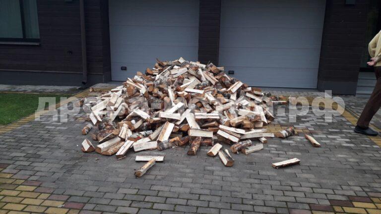 3 м³ берёзовых дров в СНТ Экран-Проект, г.о. Истра