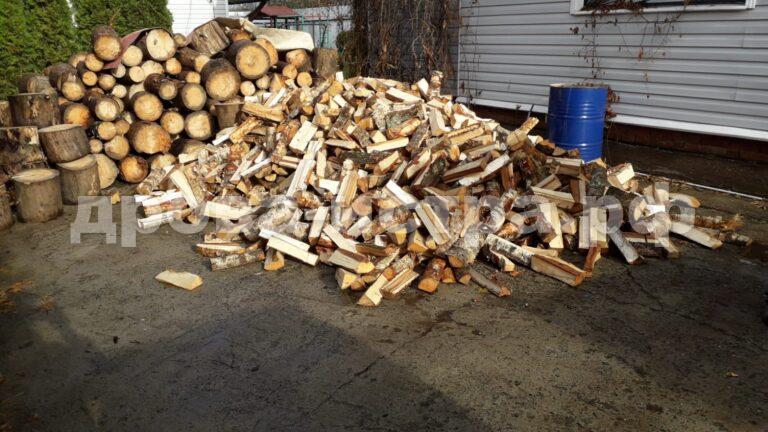 5 м³ берёзовых дров в д. Духанино, г.о. Истра